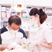 患者様の安心・安全高い技術力の提供